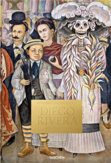 Diego Rivera. Sämtliche Wandgemälde.