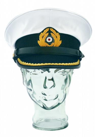 Dienstmütze Kapitänleutnant Kaleu - Mütze der deutschen U-Boot Kommandanten - Größe 58