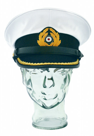 Dienstmütze Kapitänleutnant Kaleu - Mütze der deutschen U-Boot Kommandanten - Größe 60