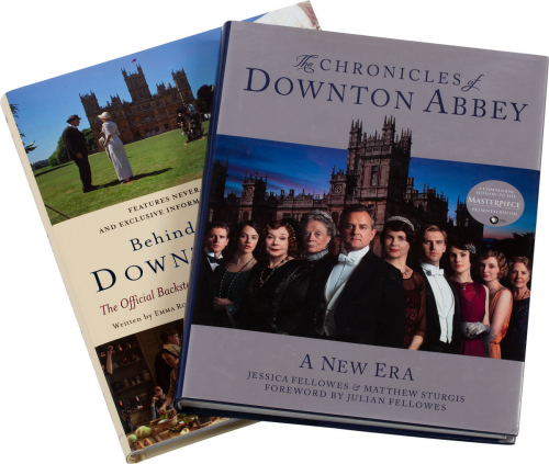 Downton Abbey Set. Behind the Scenes & Chronicles. 2 Bände.