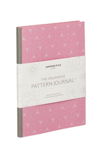 Dreamday Pattern Journal. Japanese Style Kyoto.
