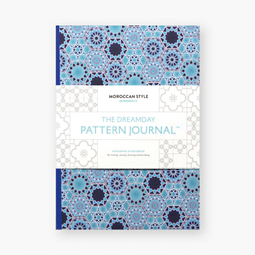 Dreamday Pattern Journal. Marrakech.