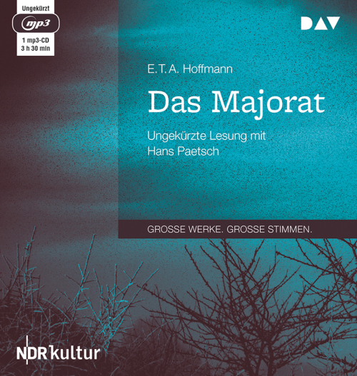 E.T.A. Hoffmann. Das Majorat. mp3-CD.