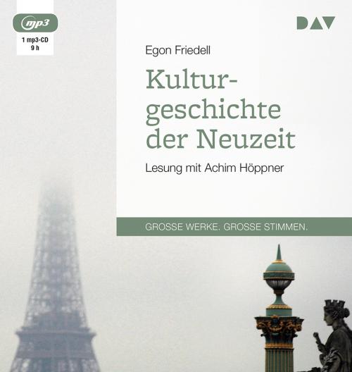 Egon Friedell. Kulturgeschichte der Neuzeit. mp3-CD.