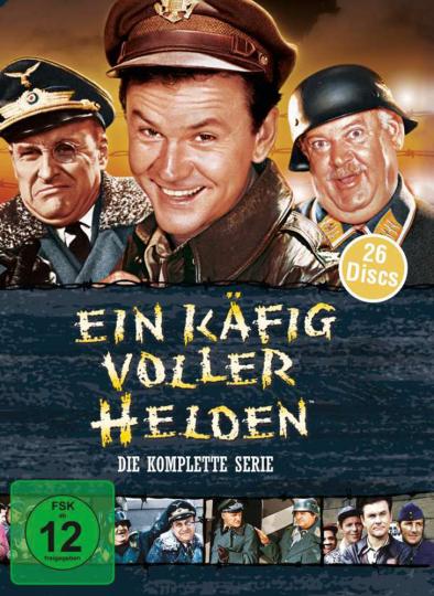 Ein Käfig voller Helden (Komplette Serie) 26 DVDs