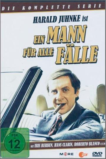 Ein Mann für alle Fälle - Die komplette Serie - Mit Harald Juhnke, Iris Berben u.a. DVD
