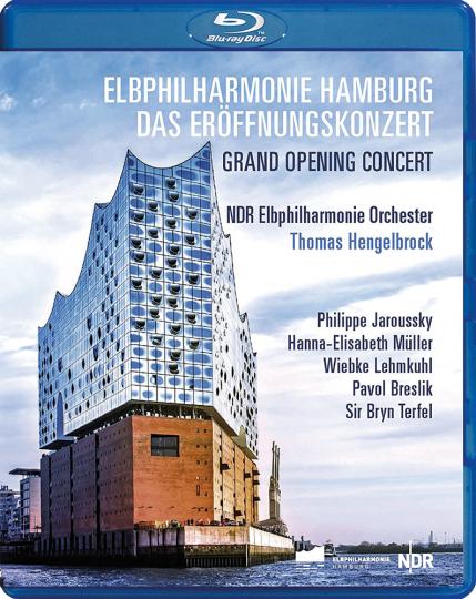 Elbphilharmonie Hamburg. Das Eröffnungskonzert. Blu-ray.