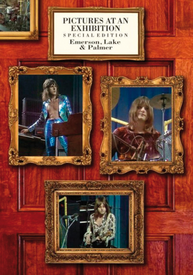 Emerson, Lake & Palmer. Pictures at an Exhibition. DVD.