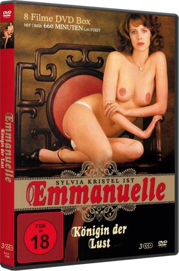 Emmanuelle - Königin der Lust. 3 DVDs.