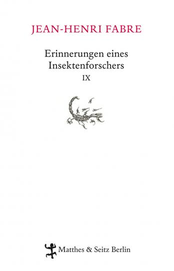 Erinnerungen eines Insektenforschers IX.