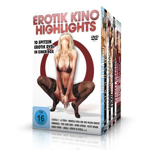 Erotik Kino-Highlights. 10 DVDs im Schuber.