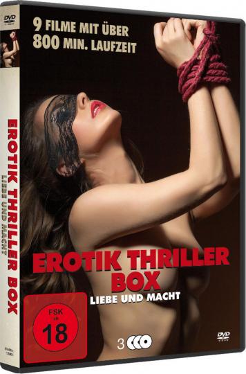 Erotik Thriller Box. 3 DVDs.