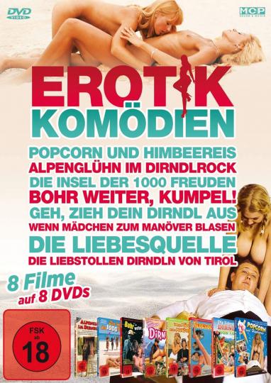 Erotikkomödien (8 Filme). 8 DVDs