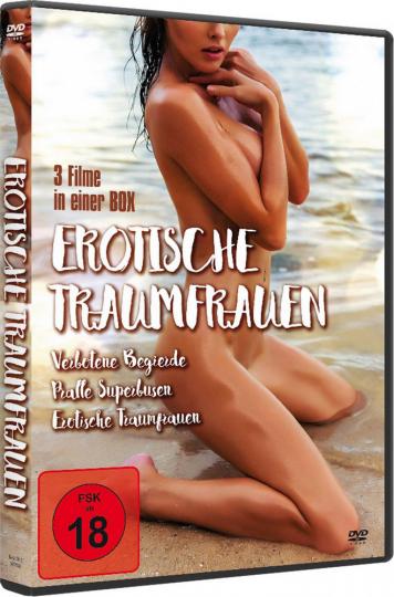 Erotische Traumfrauen (3 Filme in 1 Box). DVD.