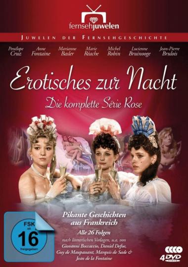 Erotisches zur Nacht (Die komplette Série Rose). 4 DVDs.