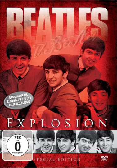 The Beatles Explosion DVD