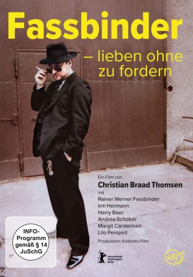 Fassbinder - Lieben ohne zu fordern. DVD.