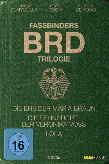 Fassbinders BRD-Trilogie. 3 DVDs.