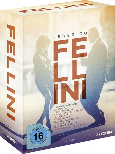 Federico Fellini Edition. 10 DVD Box