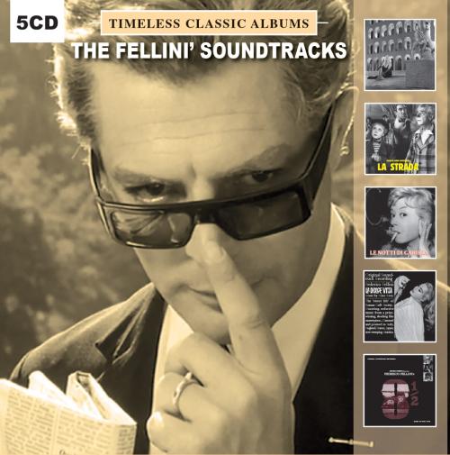 Fellini's Soundtracks. Timeless Classic Albums. 5 CDs.
