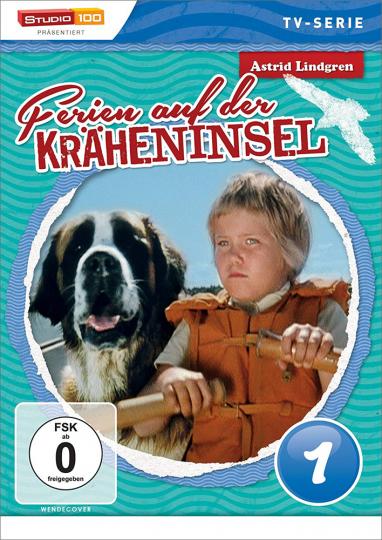 Ferien auf der Kräheninsel Vol. 1. Kinderserie von Astrid Lindgren. DVD.