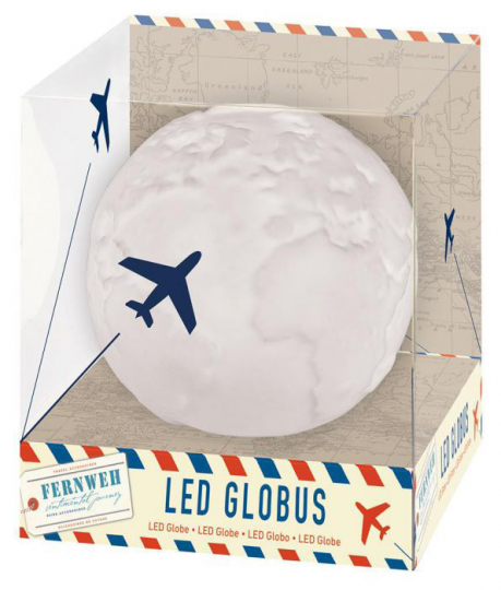 Fernweh LED-Globus.
