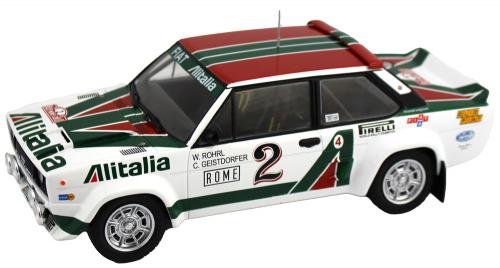 Fiat 131 Abarth , No. 2, Modell 1:18