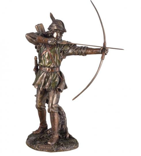 Figur Robin Hood mit Pfeil und Bogen