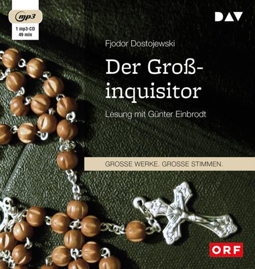 Fjodor Dostojewski. Der Großinquisitor. mp3-CD.