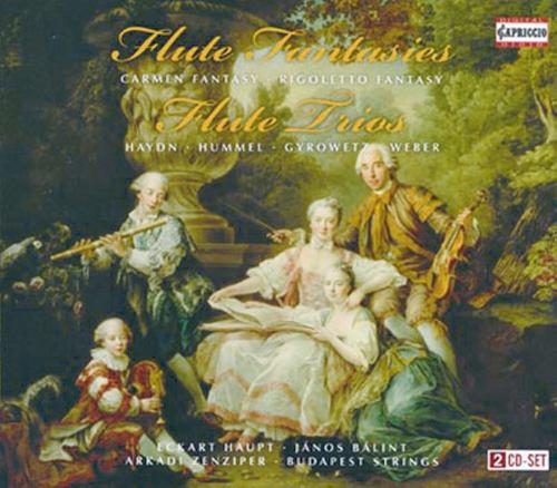 Flöten Phantasien / Flöten Trios 2 CDs
