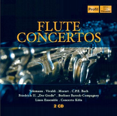 Flötenkonzerte 2 CDs
