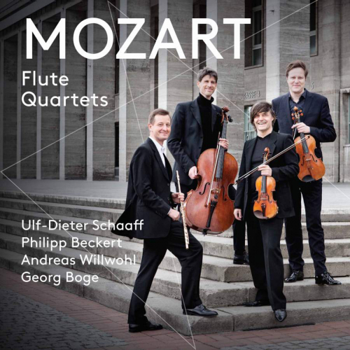 W. A. Mozart. Flötenquartette. CD.