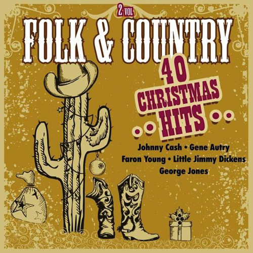 Folk and Country Christmas Hits. 2 CDs.
