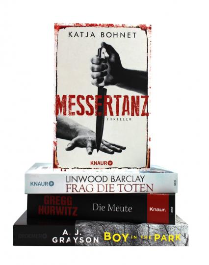 Frag die Toten Thriller-Paket, 4 Bände (M)