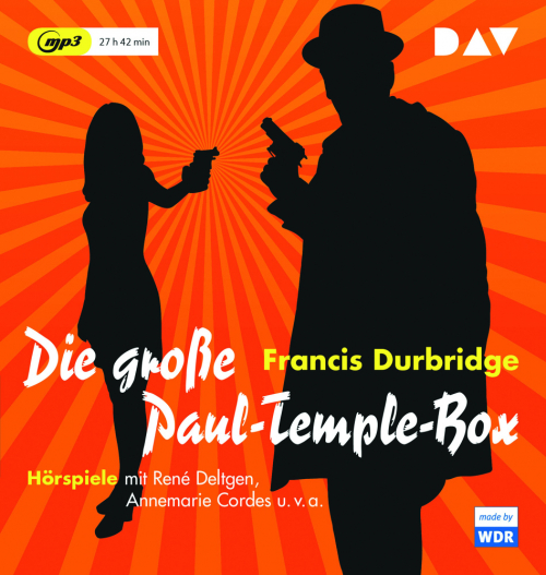 Francis Durbridge. Die große Paul Temple Box. 6 MP3-CDs.