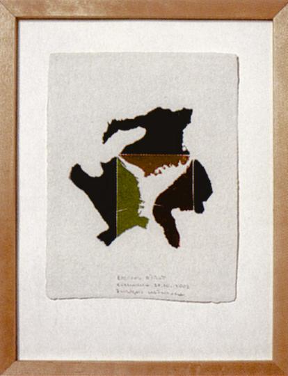François Lafranca: Original-Holzschnitt in sechs Farben (Künstleredition manesse)