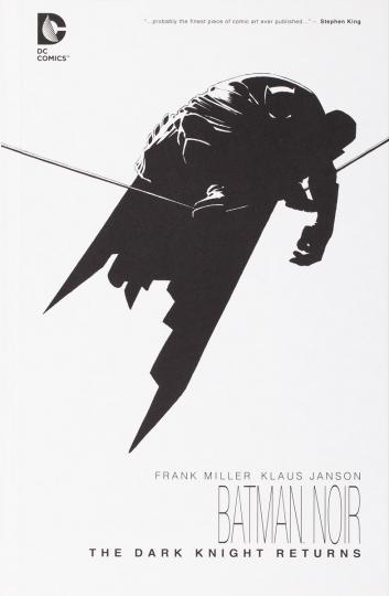Frank Miller. Batman Noir. The Dark Knight Returns.