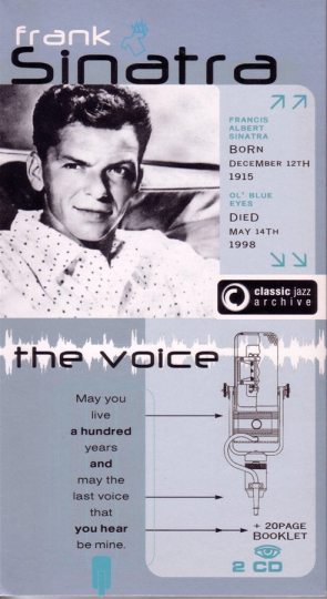 Frank Sinatra. I'll Be Seeing You / I Only Have. Classic Jazz Archive. 2CDs.