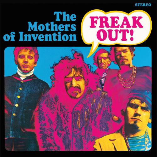 Frank Zappa. Freak Out! CD.