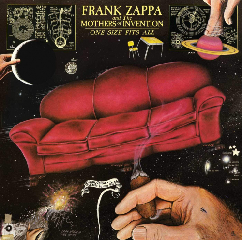 Frank Zappa. One Size Fits All. CD.