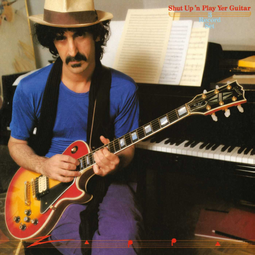 Frank Zappa. Shut Up And Play Yer Guitar. 2 CDs.