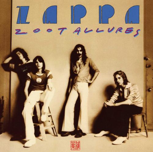 Frank Zappa. Zoot Allures. CD.