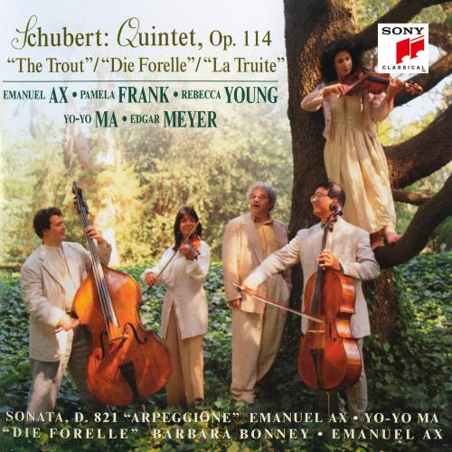 Franz Schubert. Quintett, Op. 114. »Forellenquintett.« CD.