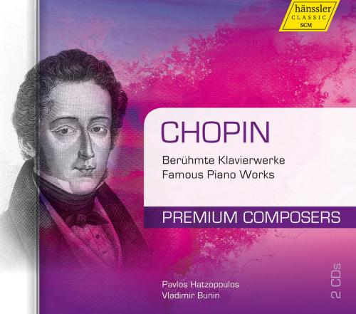 Frederic Chopin. Berühmte Klavierwerke. 2 CDs.