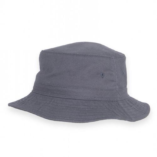 Freizeithut Baumwolle blau L