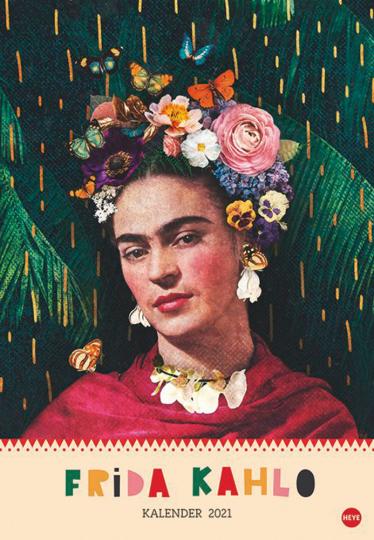 Frida Kahlo Posterkalender Kalender 2021.
