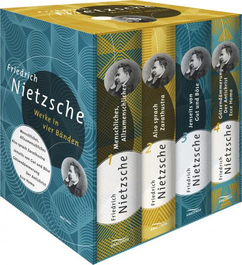 Friedrich Nietzsche. Werke in vier Bänden.