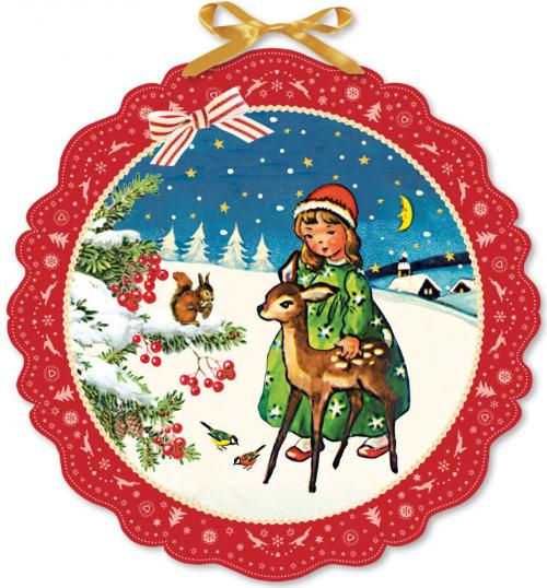 Frohe Weihnacht überall. Adventskalender.