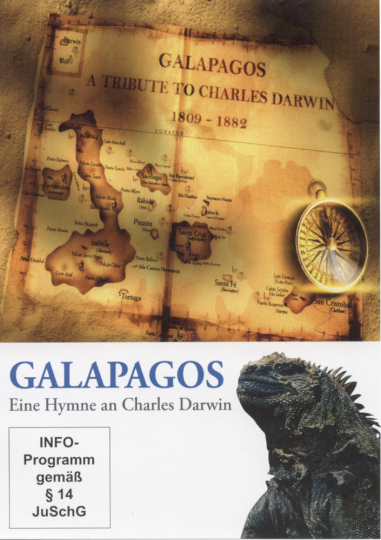 Galapagos. Eine Hymne an Charles Darwin. DVD.