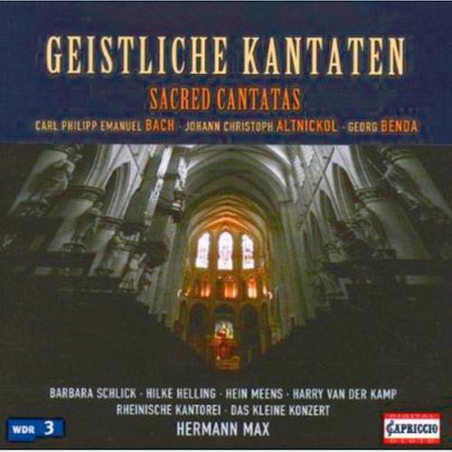 Geistliche Kantaten CD